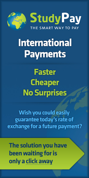 Study Pay: the smart way to pay. For international payments see baydonhillfx.com/studypay