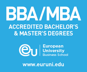 European University: 40 years of excellence in business education www.euruni.edu