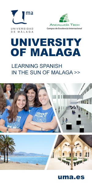 Universidad de Malaga; great language courses and higher education programmes with the best sun of Europe. Seeking new student agencies. http://www.uma.es/centrointernacionaldeespanol