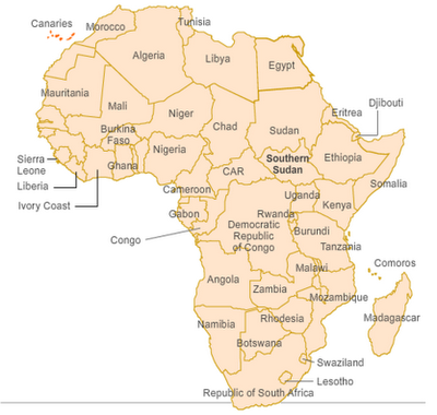 political-map-of-africa