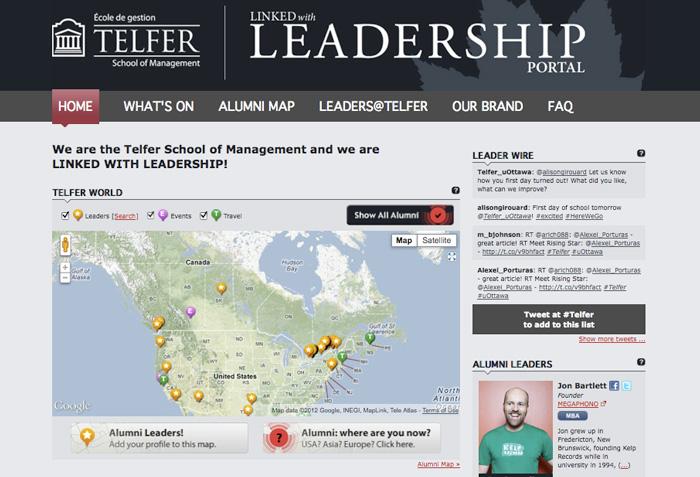 tefler-university-website