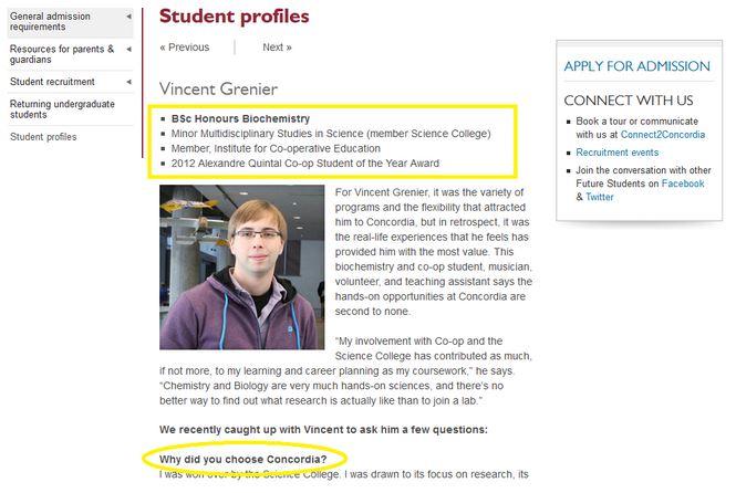 concordia-university-student-profile