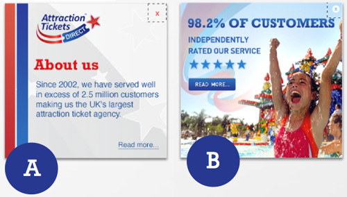two-version-of-an-online-banner-for-attraction-tickets