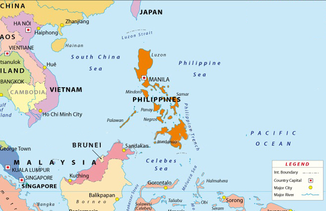 Outbound mobility gathering steam in the philippines icef monitor philippines map major destinations include the us which accounted for 27 of outbound enrolment in 2012 australia 21 and the uk 12 gumiabroncs Image collections