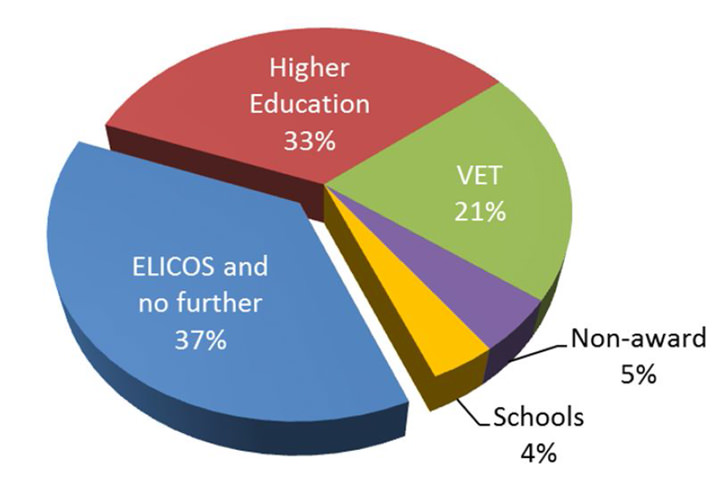 sector-in-which-international-students-enrolled-immediately-following-elicos-2012