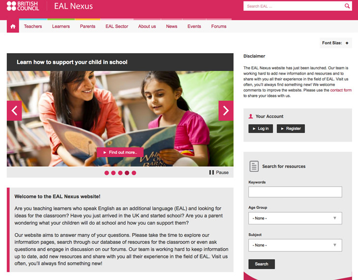 britishcouncil-ealnexus-website