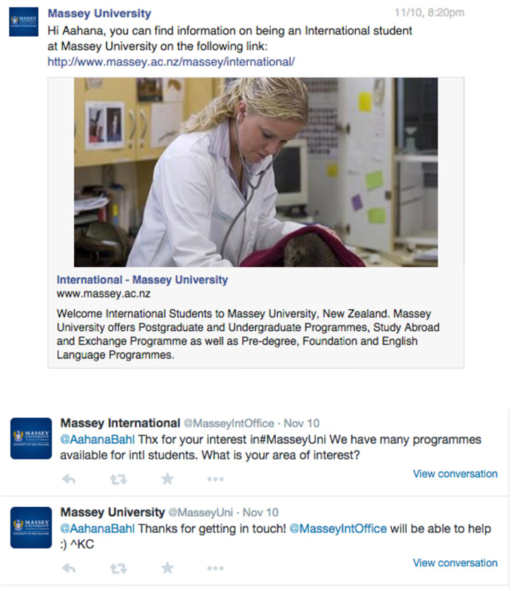 intead-massey-university-social-media-response