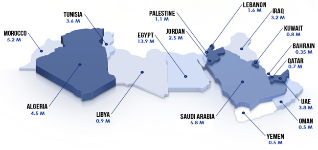MENA-facebook-users