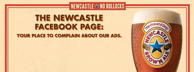 Anti-marketing NewcastleBrown