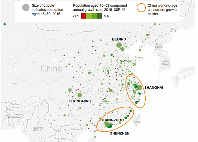 population-distribution-of-working-age-consumers-in-china
