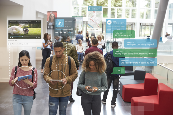 Where the students are: Mobile, messaging, and apps
